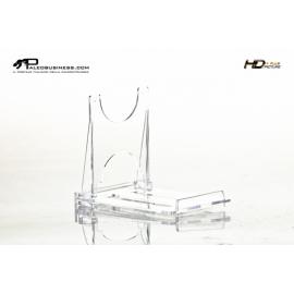 Supporto in plexyglass trasparente 10 cm