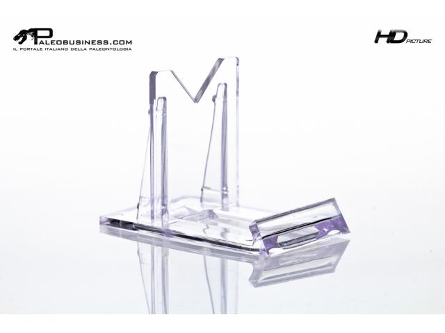 Supporto in plexyglass ultra trasparente 4.5 cm