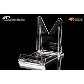 Supporto in plexyglass ultra trasparente 8 cm